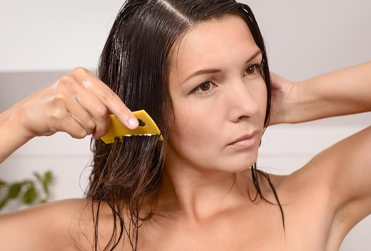 Benefits of Coconut Oil makes for Prevention and treatment lice, getting rid of the darn