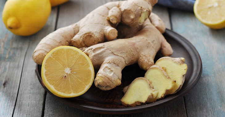 How to get Rid of White Spots on Skin use Ginger, Red Clay and Lemon Juice
