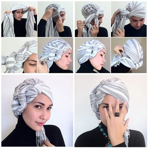 How To Keep Your Hair Straight Overnight use Wrap Your Hair in a Headscarf