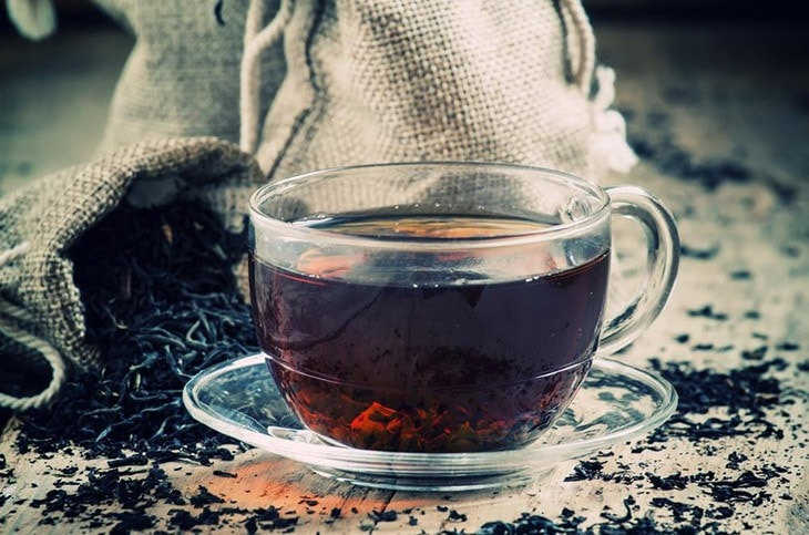 how to get rid of Ingrown hair scars with black tea