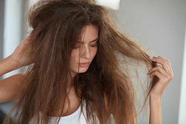 Symptoms of Damaged Hair