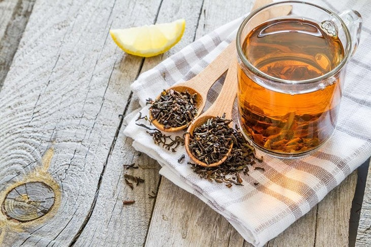 black tea for get rid of ingrown hair scars