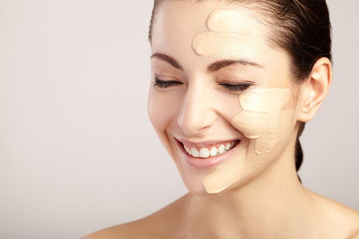 foundation as a makeup base