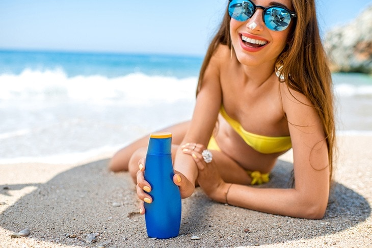 sunscreen help women ageless beauty