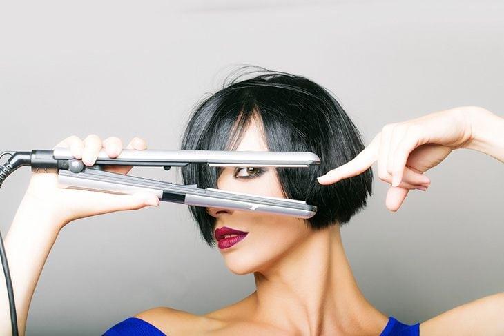 straighten your hair help your hair longer