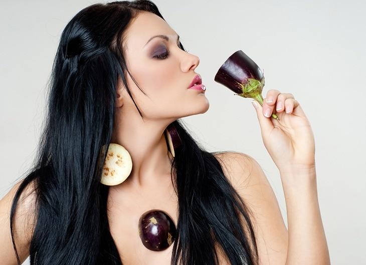 use eggplant for sunburns