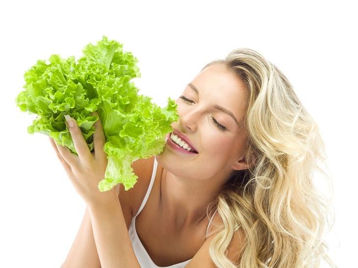 use lettuce for sunburns
